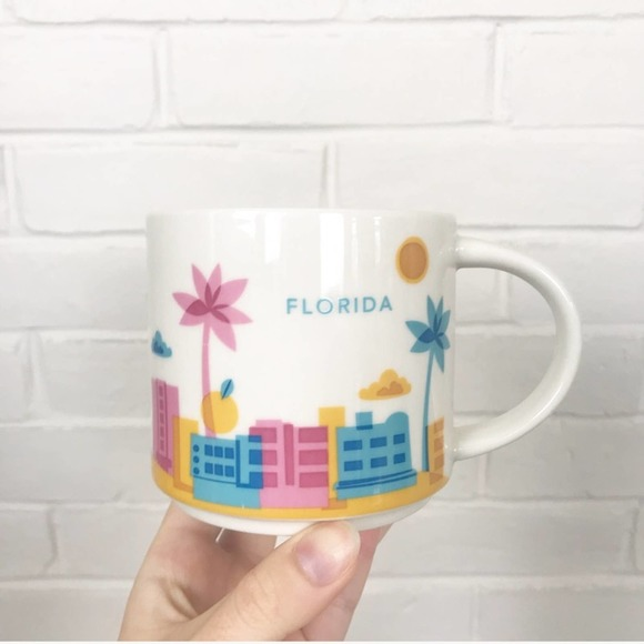 {Starbucks} You Are Here Collection Mug Florida